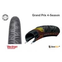 Continental Покрышка Grand Prix 4-Season, 700 x 23C, (23-622) борт-кевлар