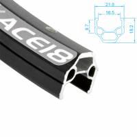 ALEX RIMS Обод ACE18, 700Сх16,5ммх36Н, A/V, CSW, SSE, индикатор износа, чёрный (Trekking)
