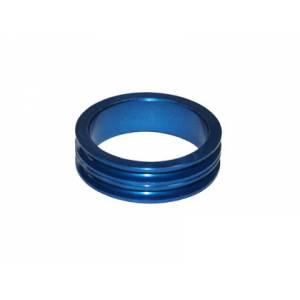 """NECO Кольцо проставочное 1-1/8""""х10мм синее, алюминий"""