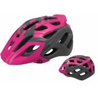 Шлем KELLYS DARE туристический, Матовый фиолетовый, M/L (58-61см). 23 вентиляционных отверстия, система регулировки STL 3.0, интегрированная сетка от насекомых, съёмный козырёк, сзади отражающий стикер