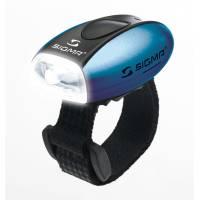 SIGMA фонарик MICRO белый, корпус синий