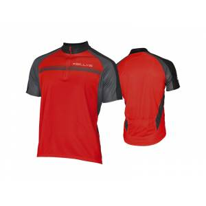 Джерси Pro Sport, короткий рукав, 100% полиэстер, красный, S
