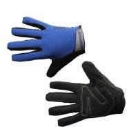 Велоперчатки Blue S, в торг.уп.