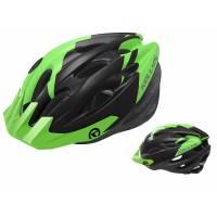 Шлем KELLYS BLAZE для MTB-XC, матовый зелёный, M/L (58-64см). 19 вентиляционных отверстий, система регулировки STL 3.0, новый козырёк, отражающий стикер сзади