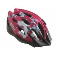 Etto Шлем детский Shark, розовый/белый, (50-57см)