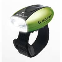 SIGMA фонарик MICRO белый, корпус зеленый