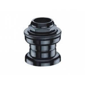 "NECO Рулевая H802A резьбовая, 1"" х 24Т, Ø21,1х32х27мм, высота 36±0,5мм, сталь, подшипники 3/16""x15x2шт., назначение: ВМХ, фристайл, черная, 8 частей, в торг.уп."