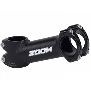"""ZOOM Вынос руля TDS-AD368A-8, МТВ, 1-1/8"""" х 105мм х 25,4мм х 10°, высота 45мм, матов.чёрный"""