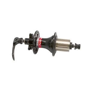 NOVATEC Втулка задняя D462SB-SL-QR кассетная, МТВ, 36Н, с эксцентриком QR249, чёрная, вес 452г