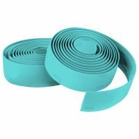 """Оплётка руля KLS TRENTO зелёная: EVA, адгезивный VexGel™, поверхность """"Soft touch"""", легко очищаемая, заглушки и законцовки в комплекте"""