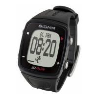 Часы спортивные SIGMA SPORT iD.RUN: скорость и расстояние (на основе GPS), индикатор расстояния, счётчик кругов, месячная статистика, личные достижения, отслеживание активности. Чёрный