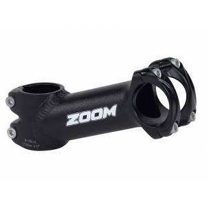 """ZOOM Вынос руля TDS-AD368A-8, МТВ, 1-1/8"""" х 75мм х 25,4мм х 10°, высота 45мм, матов.чёрный"""