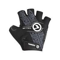 Перчатки COMFORT без пальцев, чёрный/белый, S