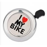 Звонок Bike хром, в торг.уп.