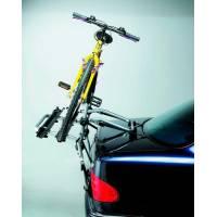 Peruzzo Автобагажник на заднюю дверь PADOVA, сталь, труба D:30 мм, для 2 в-дов весом до 15кг, шириной колеса до 70мм, цвет: серый, упаковка-карт.короб.