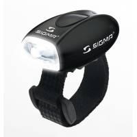SIGMA фонарик MICRO белый, корпус черный