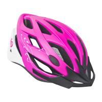 Шлем DIVA розовый/матов.белый, S/M (56-58cm)