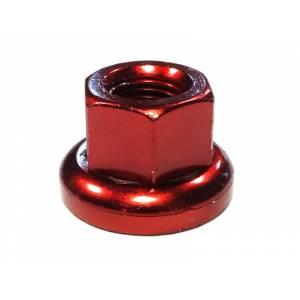 MR.CONTROL Гайка M-FXS для оси Fix Gear, закалённая сталь, M9X1.0, L:14,6мм, красная