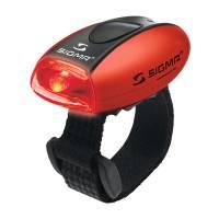 SIGMA фонарик MICRO красный, корпус красный