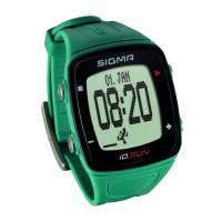 Часы спортивные SIGMA SPORT iD.RUN: скорость и расстояние (на основе GPS), индикатор расстояния, счётчик кругов, месячная статистика, личные достижения, отслеживание активности. Бирюзовый