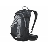 Рюкзак HUNTER, объём 15л, цвет чёрный/серая молния YKK