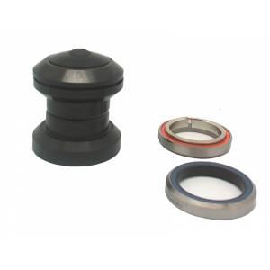 """NECO Рулевая H773 нерезьбовая, 1-1/8""""х34х30мм, высота 29,5±0,5мм, алюминий 6061, на промподшипниках NHB-6A (Ø41.8 x 45°х 45°), черная, 8 частей. В торг.уп."""