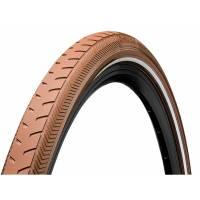 Continental Покрышка ClassicRIDE 28 x 1.6 коричнев./коричнев., отражающая полоса