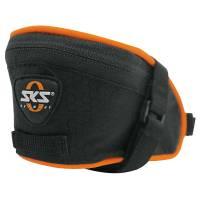 SKS Сумка под седло Base Bag XS, обьём: 0,3 л, крепление с помощью ремешка, чёрная