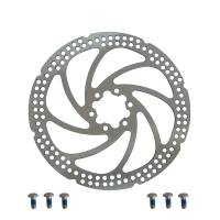 "ZOOM Диск тормозной TYPE-I 180мм, толщина 2 мм, вес 190г, с болтами, без уп. ""круг"""