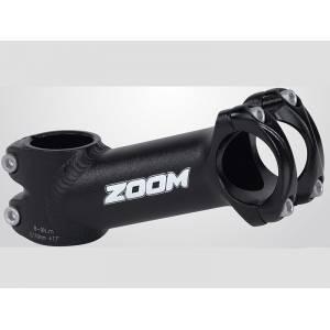 """ZOOM Вынос руля TDS-AD368A-8, МТВ, 1-1/8"""" х 90мм х 25,4мм х 17°, высота 45мм, матов.чёрный"""