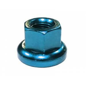 MR.CONTROL Гайка M-FXS для оси Fix Gear, закалённая сталь, M9X1.0, L:14,6мм, синяя