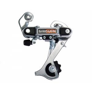 Переключатель задний HG-18A дискретный длиная лапка, ёмкость 36T, крепление на петух, сталь, в торг.уп