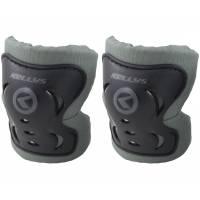 """Защита локтей и коленей KLS KITER PADS для подростков, регулируемая застёжка- """"липучка"""", комплект 4 предмета"""