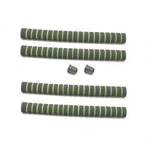 Грипсы HL-GR19 неопреновые D:20мм, длина 320мм (комплект 4 шт.)
