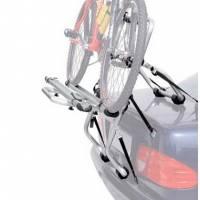 Peruzzo Автобагажник на заднюю дверь PADOVA алюм. труба D:30 мм,, для 2-х в-дов., фиксация велосипеда: колёса установ. в полозе, за трубу рамы, серое защитное покрытие, упак.-карт.короб.