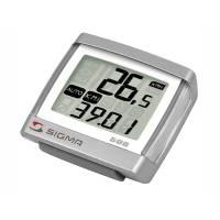 SIGMA Велокомпьютер BC 5.16 5 функций: скорость текущая; расстояние за день, общее; время в пути; часы