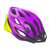Шлем DIVA фиолетовый/салатовый, M/L (58-61cm)
