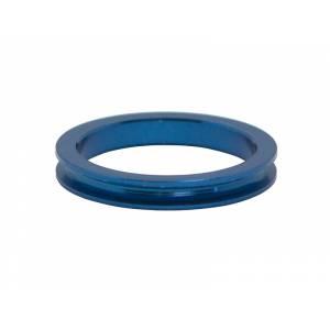 """NECO Кольцо проставочное 1-1/8""""х5мм синее, алюминий"""