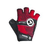 Перчатки COMFORT без пальцев, красные, S