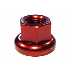 MR.CONTROL Гайка M-FXS для оси Fix Gear, закалённая сталь, M10X1.0, L:14,6мм, красная