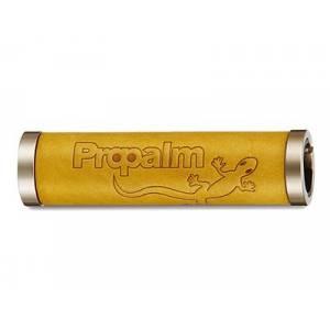 PROPALM Грипсы HY-1027EP-BW, кожаные, 128мм, с 2 грипстопами, с упаковкой
