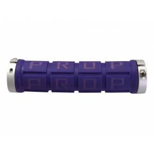 PROPALM Грипсы HY-2004EP, для Fixed Gear, 128мм, с 2 грипстопами, фиолетовые, в упак.