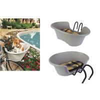 Корзина BELLELLI PLUTO для перевозки собаки/кошки передняя с креплением Handlefix