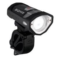 SIGMA Фара передняя BUSTER 200, 6 режимов, 200лм, освещаемая дистанция 50м, интегрированный аккумулятор, алюминиевый корпус. В комплекте USB кабель и адаптер для action-камеры