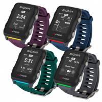 Часы спортивные SIGMA SPORT iD. FREE серые. 6 предустановленных видов тренировок: бег, велосипед, плавание, ходьба, лыжи, фитнес. Альтиметр, динамика погоды, компас. Целевая зона тренировки, сигнализация с помощью подсветки SMART LIGHT, CRASH ALERT - вызо
