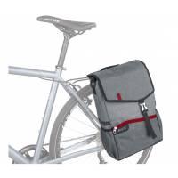 """Подседельная сумка для MTB KLS Broker. Материал: полиэстер 600D / нейлон 210D. Для использования с левой стороны заднего багажника. Основное отделение включает карман для лэптопа (13"""") и 2 кармана-органайзера. Передний карман для быстрого доступа к мелоча"""