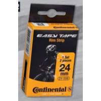 Continental ободная лента Easy Tape Rim Strip (до 116 PSI), чёрная, 22 - 622, 2шт.