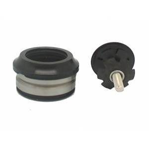 "NECO Рулевая H23 интегрированная, 1-1/8""х30мм, высота 9,5±1мм, алюминий, CNС, вес 60,3г, промподшипники Ø41x36°x45°, крышка 7,8мм, чёрная, 6 частей"