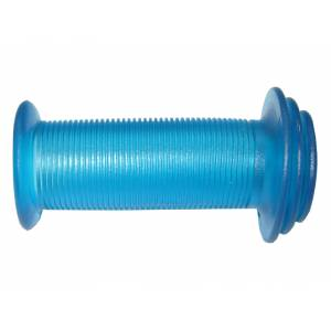 VELO Грипсы VLG-901 детские, 82мм, с фланцами, с закрытым концом, синие