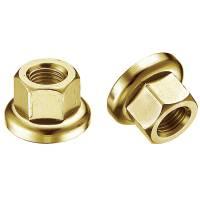 MR.CONTROL Гайка M-FXS для оси Fix Gear, закалённая сталь, M10X1.0, L:14,6мм, золотистая